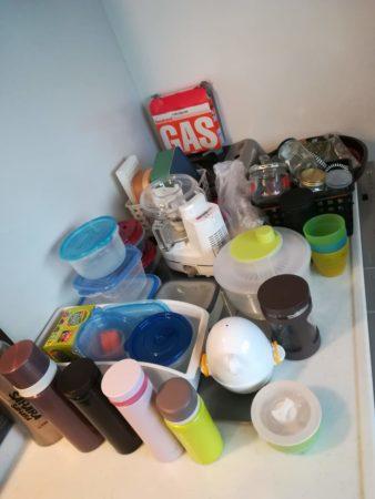 食器棚下収納に入っていたもの