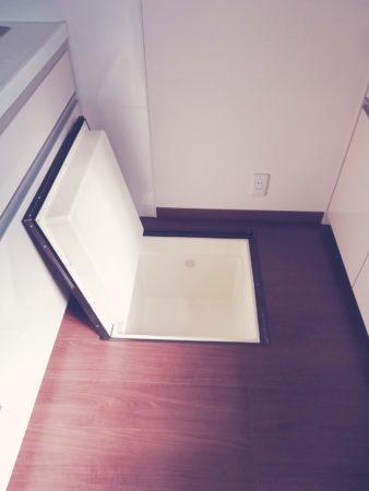 床下収納・キッチン