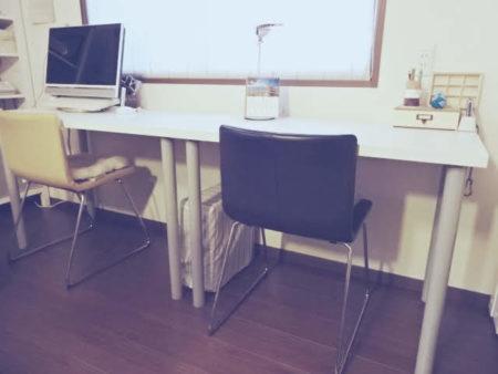 イケアの机