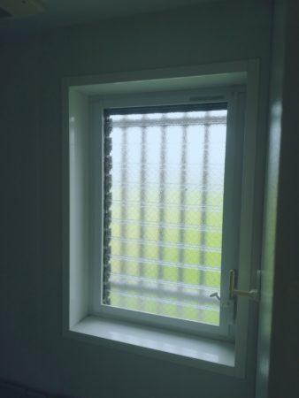 浴室ルーバー窓