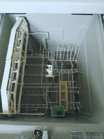 食器洗い乾燥機内部