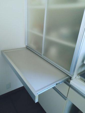 食器棚カウンター