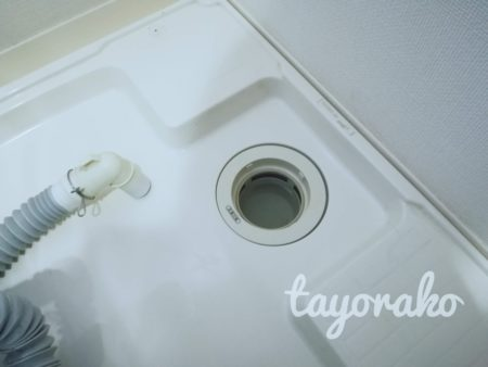 洗濯機排水口