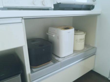 炊飯器とホームベーカリー