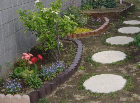 テストピース花壇