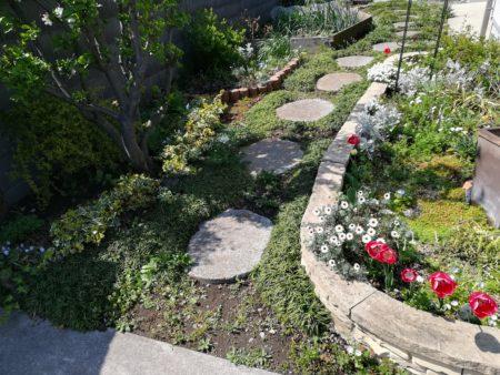 ブロック花壇